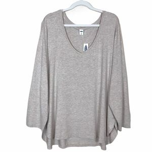 Old Navy Luxe High Low Hem Tunic Top